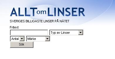 Alltomlinser.se - Google gadget